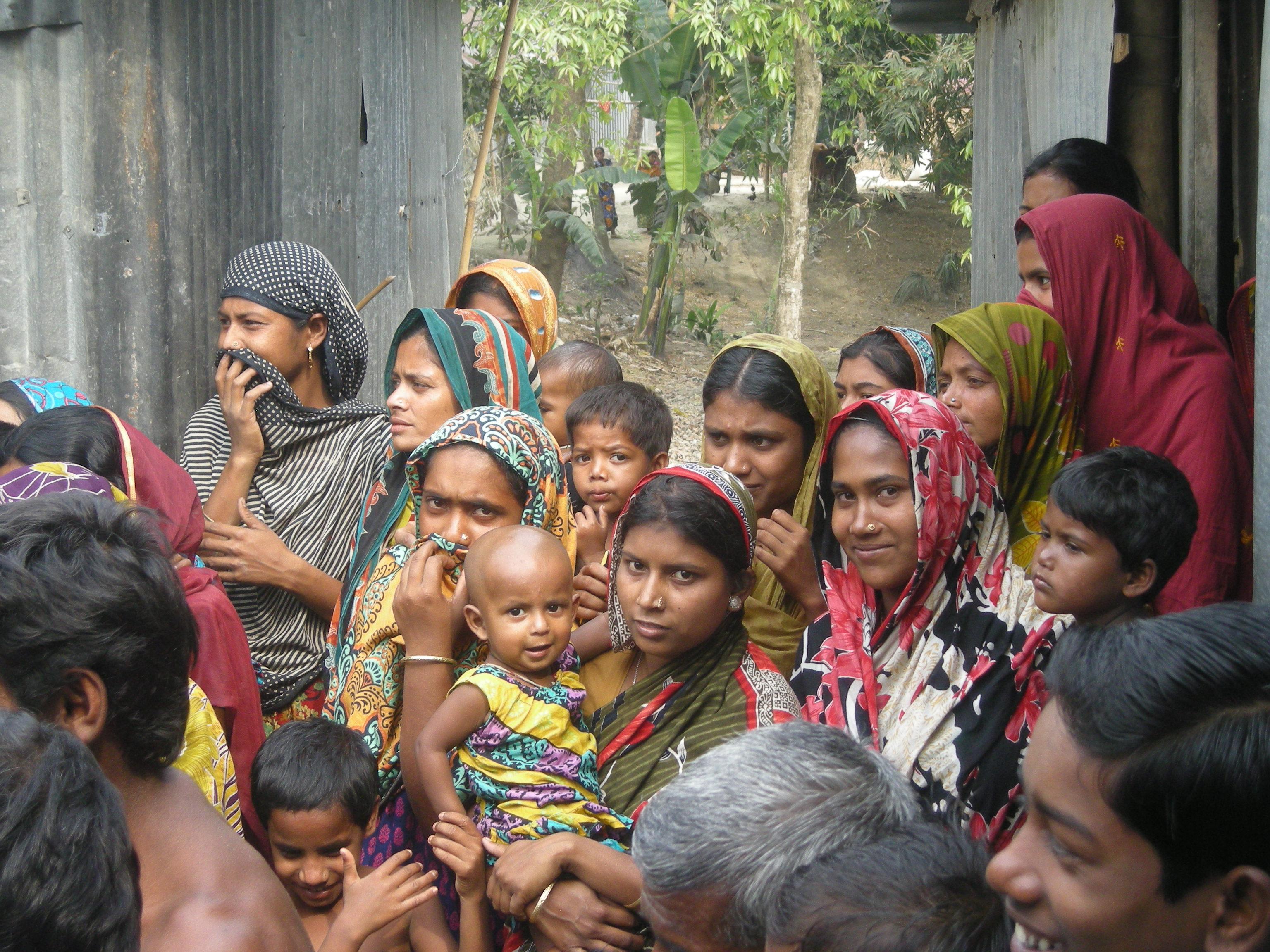 Bangladesh visite village 2 bapt Radio 11