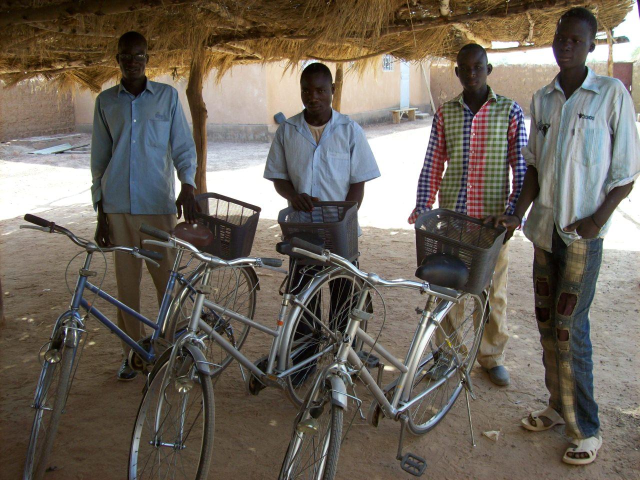 Vélos  pour les prédicateurs laïcs