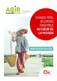 Couverture Agir Ensemble - mai 2019 : zoom Asie du Sud-Est