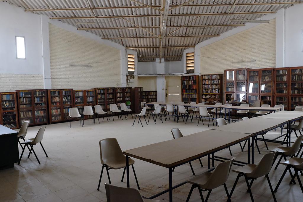 Intérieur de l'institut Biblique et de Théologie du Sénégal