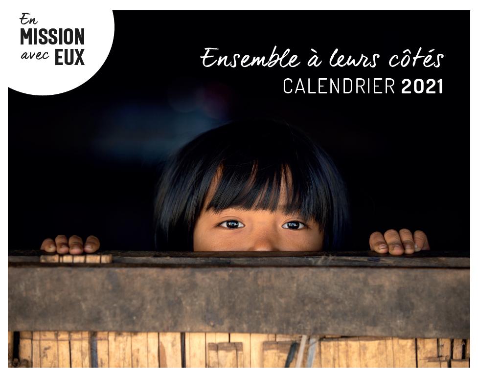 Couverture calendrier 2021 Action Missionnaire