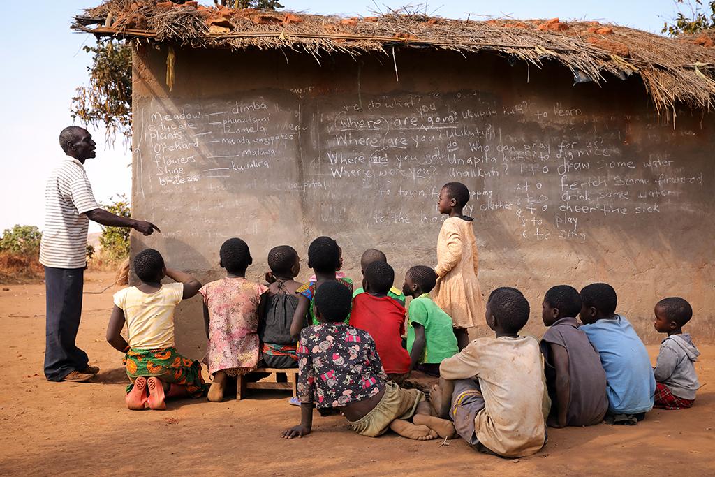 Parrainer un groupe d'enfants scolarisés
